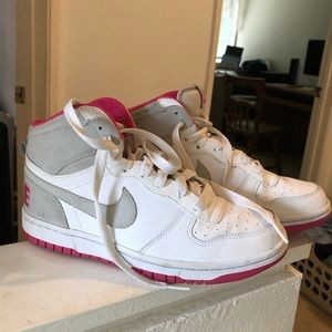 Women's high top Nikes